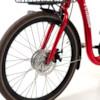 Trehjulig Elcykel Evobike Elegant 2019 - 24 tum 250W - Röd - 630Wh