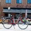 Elcykel EvoBike ECO-7 250W - Cherrymetallic, dam