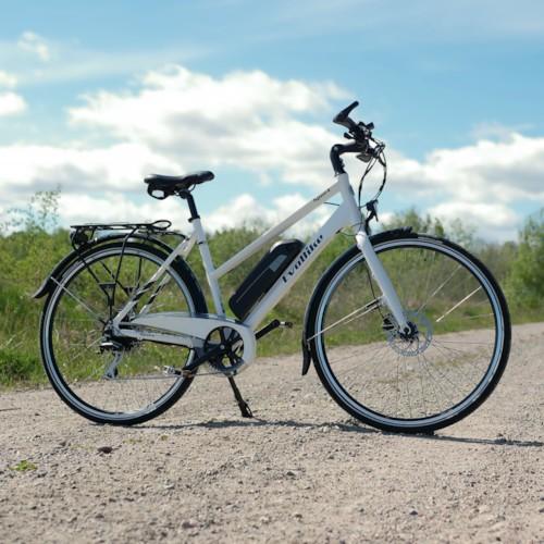 Elcykel EvoBike SPORT-8 500W 2020 - Vit, dam