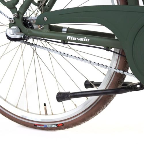 Elcykel EvoBike CLASSIC-3 250W 2020 - Matt olivgrön, dam