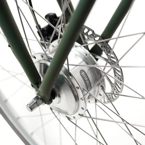 Elcykel EvoBike CLASSIC-7 250W 2020 - Matt olivgrön, herr