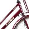 Elcykel EvoBike CLASSIC-7 250W 2020 - Cherry, dam