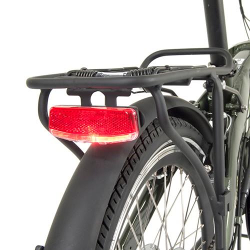 Elcykel EvoBike Travel 2020, Hopfällbar - Vit