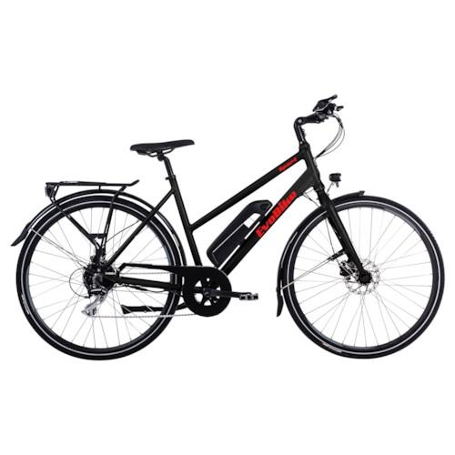 Elcykel EvoBike Sport-8 250W 2021 - Svart, Dam