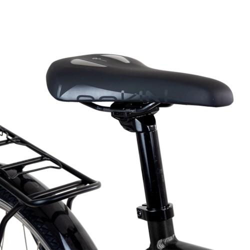 Elcykel EvoBike Sport-8 Mid-Drive 250W 2021 - Svart, Dam