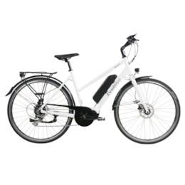 Elcykel EvoBike Sport-8 Mid-Drive 250W 2021 - Vit, Dam