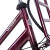Elcykel EvoBike Classic-7 250W 2021 - Röd, Dam