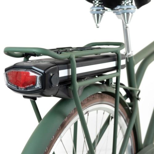 Elcykel EvoBike Classic-7 250W 2021 - Olivgrön, Herr