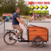Elcykel Lådcykel EvoBike Cargo PRO 2021 - Natural Wood