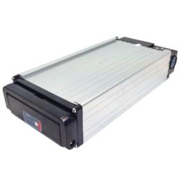 Lithiumbatteri 36V 10Ah utan baklampa - 12 mm laddningsingång