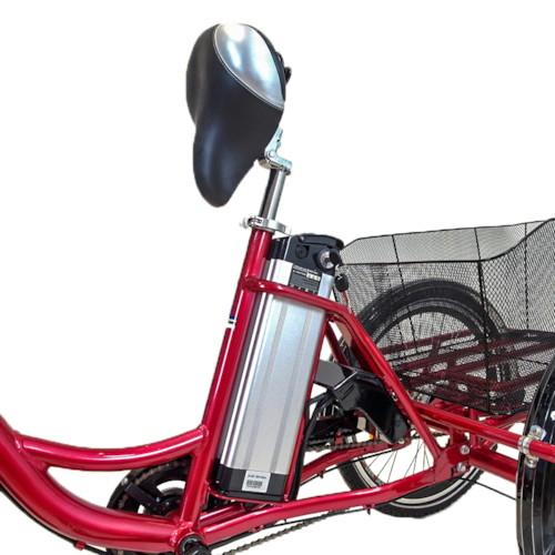 Lithiumbatteri 36V 10Ah till Trehjulig elcykel 26/24 tum