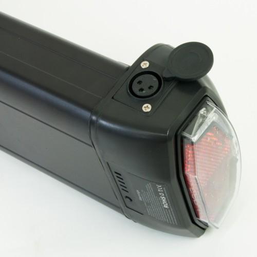 Lithiumbatteri 36v 10Ah 4-pin Samsung för pakethållare