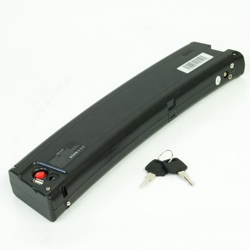 Litiumbatteri 48V 10,4Ah Samsung inkl. pakkeholder og lader