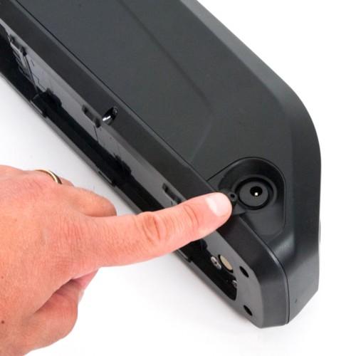 Lithiumbatteripaket 48v 10Ah Samsung för rammontering inkl laddare