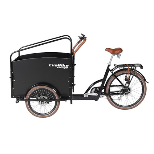 Huvudlåda - Lådcykel EvoBike Cargo PRO - Darkwood 2020