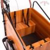 Elcykel Lådcykel Evobike Cargo PRO - 630Wh - Natural wood