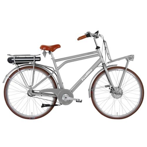 Elcykel EvoBike CLASSIC-3 250W - Frostgrå, herr