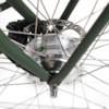 Elcykel EvoBike CLASSIC-7 250W - Matt olivgrön, dam