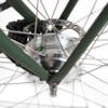Elcykel EvoBike Classic-7 Long Range 2021 - Olivgrön, Dam