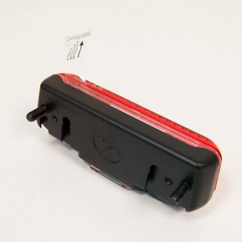 Baklampa LINED pakethållare, separata batterier