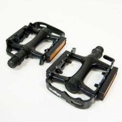 Pedalset Wellgo M248, svart