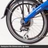 Bakhjul 20 tum Bafang 250W, elcykel EvoBike TRAVEL 2017