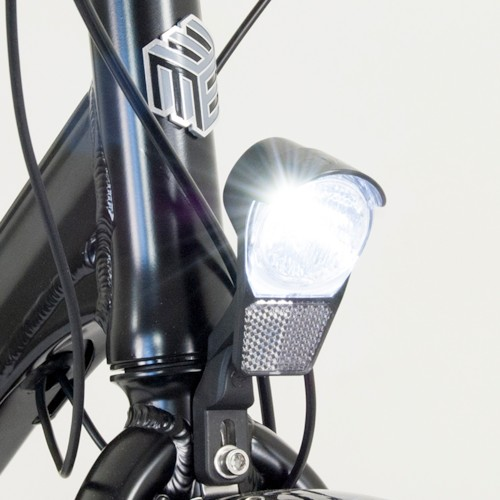 Elcykel EvoBike SPORT-8 Mid-Drive 250W - Mattsvart, herr