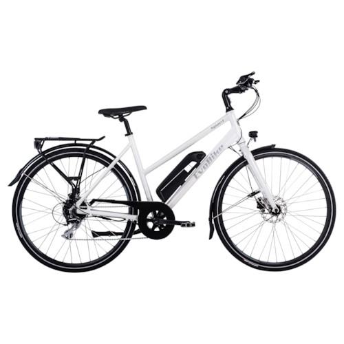 Elcykel EvoBike Sport-8 250W Long Range 2021 - Vit, Dam
