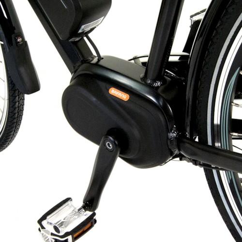 Elcykel EvoBike Sport-8 Mid-Drive 250W Long Range 2021 - Svart, Dam