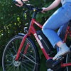 Elcykel EvoBike Sport-8 Mid-Drive 250W Long Range 2021 - Röd, Dam