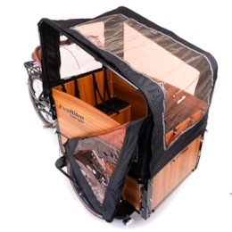 Kapell till lådcykel EvoBike Cargo PRO