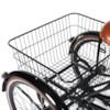 FYNDEX -  Trehjulig Elcykel Evobike Elegant 24 tum 250W 2020 - Svart