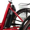 Trehjulig Elcykel Evobike Elegant - 24 tum 250W - Röd