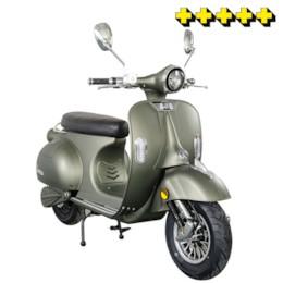 Elmoped Evolite Viverra Classic Plus 2000W V2 - Mattgrön