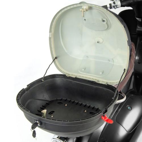 Packbox svart inkl. bakre pakethållare till Viverra Classic