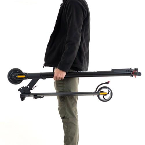 Elscooter Nitrox Alu-5 V3 250W - Svart