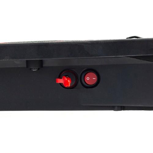 Elscooter Nitrox Alu-6 V2 250W - Svart