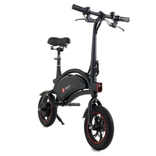 Elscooter DYU D1F 250W - Svart