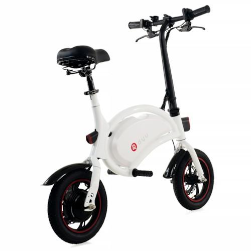 Elscooter DYU D1F 250W - Vit