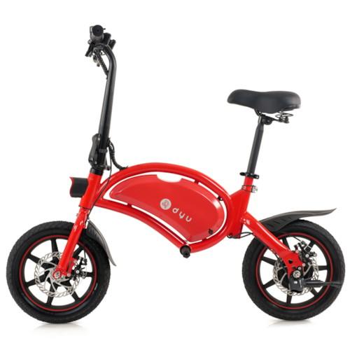 Elscooter DYU D3F 250W - Röd