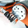 Elscooter 800 W Dirt med lysen - ORANGE