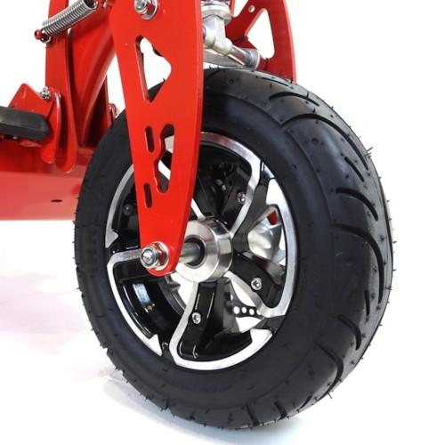 Elscooter 1000W 48V Race - SVART