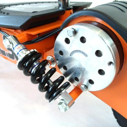 Elscooter 1300W Dirt - SVART