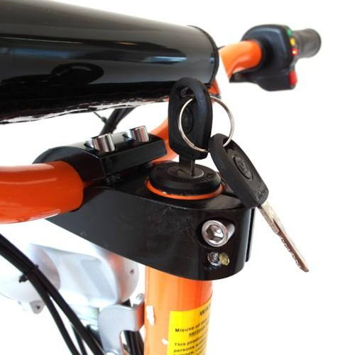 Elscooter 1300W Race - ORANGE