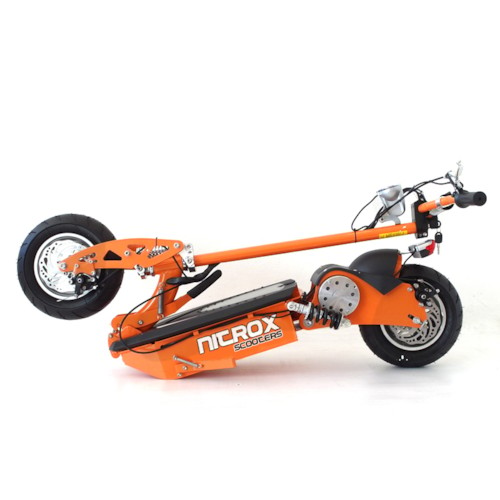 Elscooter 1600W Dirt - SVART