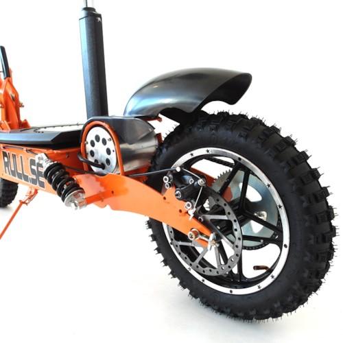 Elscooter 1600W OFFROAD - Svart