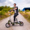 Elscooter 1600W OFFROAD - ARMY GREEN