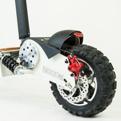 Elscooter 2000W 60V Dirt - Svart