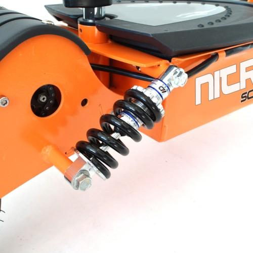 Elscooter 2000W 60V Dirt - Vit