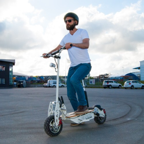 Elscooter 2000W 60V Dirt - ARMY GREEN